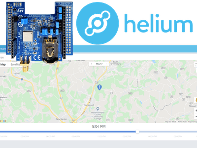 GPS Tracking With Helium Developer Kit and Cayenne