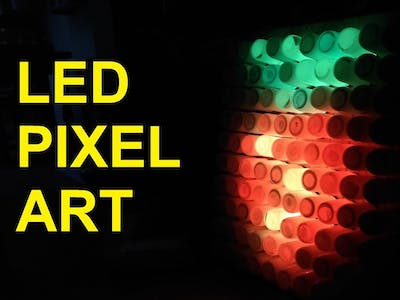 LED Pixel Art