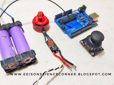 How to Control BLDC Motor With Arduino and Joystick