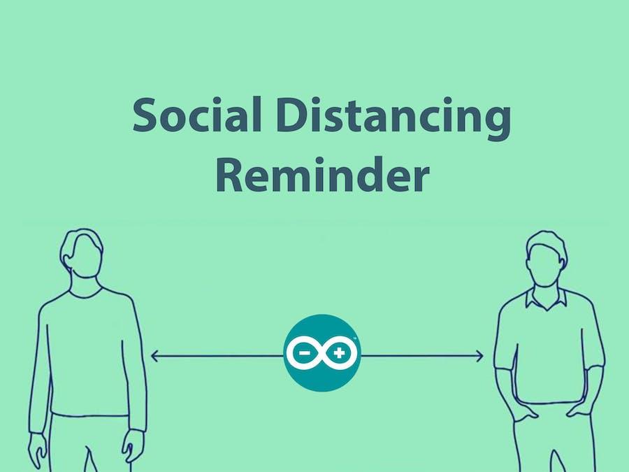 COVID -19 Social Distancing Reminder