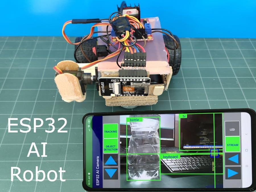 ESP32-CAM AI Robot