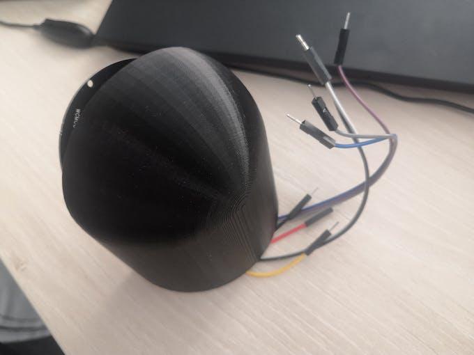 Finalized 3D print