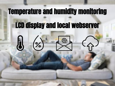 Smart temperature and humidity monitoring
