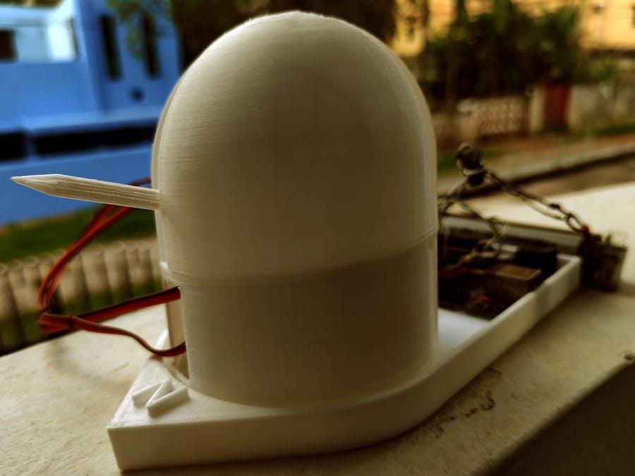 [3D Printed] Real-time Satellite Orbit Follower/Tracker W...