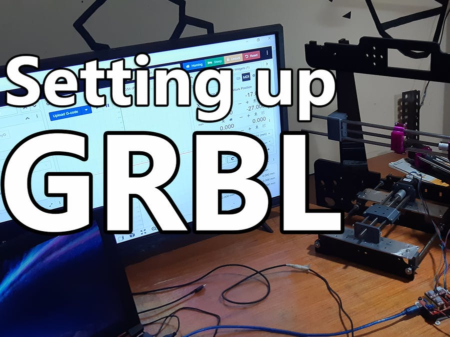 Setting up GRBL on Arduino UNO along CNCJS
