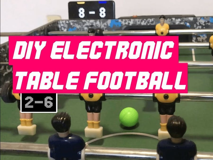 DIY Electronic Foosball Table