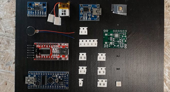 Parts for arduBand