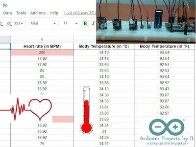 COVID-19 Remote Health monitoring system ( IoT )
