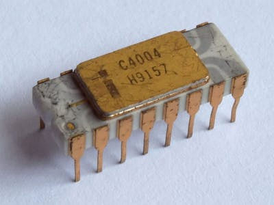 Revisiting Intel 4004 Microprocessor