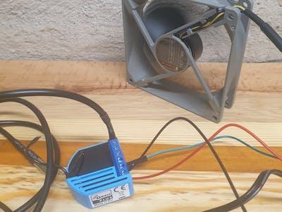 Z-wave PWM Controlled Fan