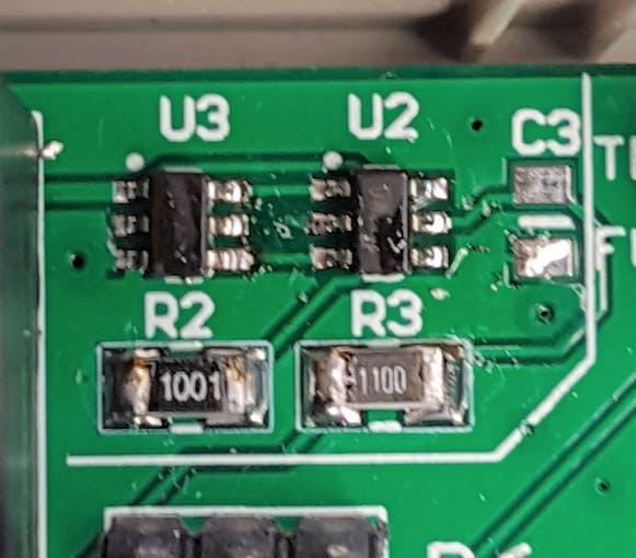 DW01 IC on custom PCB
