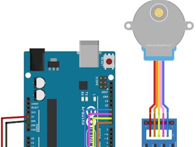 Arduino uno stepper motor basic
