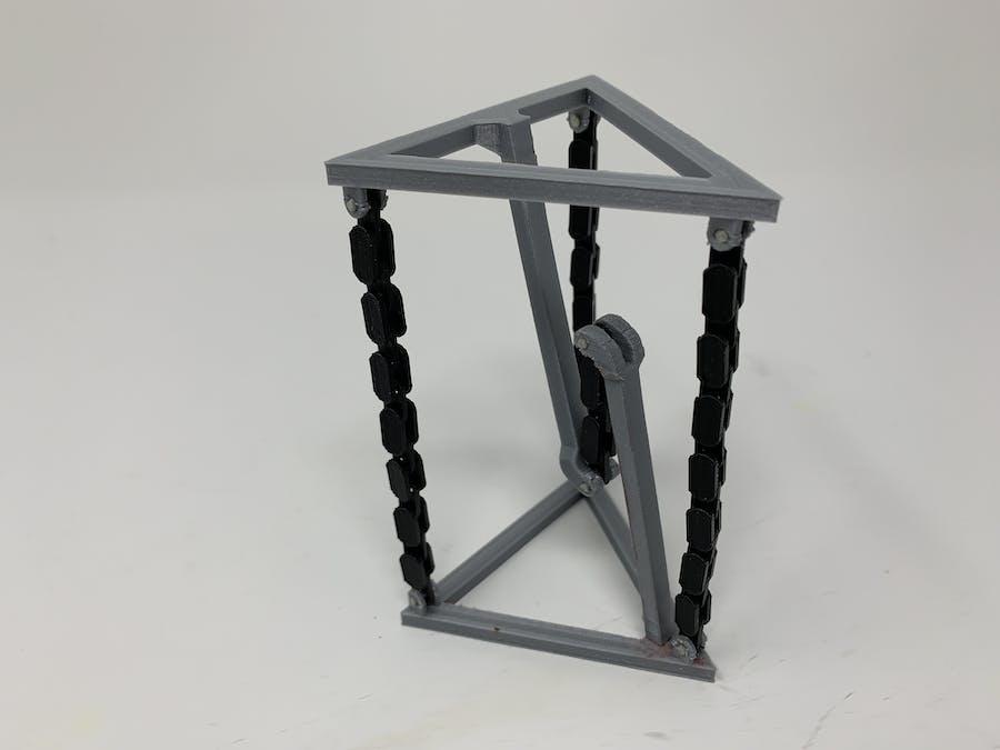 "3D Printed ""Tensegrity"" Model"