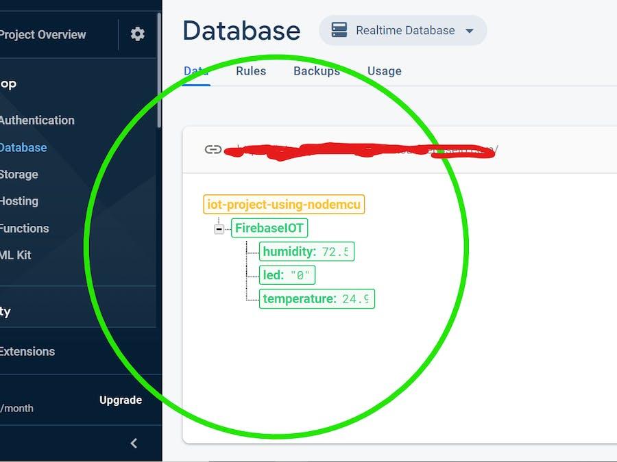 ESP8266 IoT Platform using Firebase