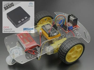 M5Stack ROBOT with NodeMCU and MPU6050