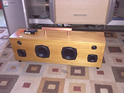 DIY Portable Bluetooth Dayton Audio BoomBox 150W