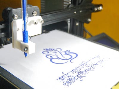 Draw With Your 3D Printer
