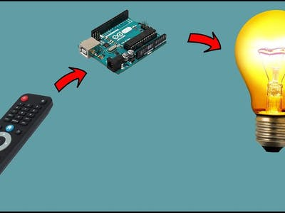 Switch ON Bulb with TV remote