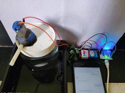 Voice Controlled soap dispenser