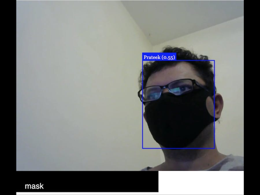 COVID19 Cracker - Recognize person and facemask
