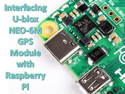 Interfacing U-blox NEO-6M GPS Module with Raspberry Pi