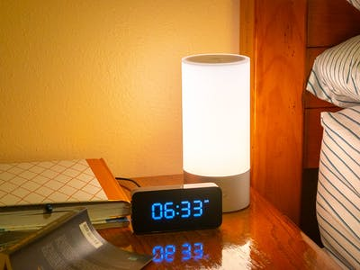 Smart Alarm Clock with Automated Room Lighting