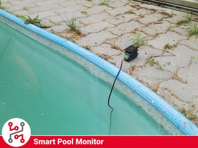 Pool Monitor with HARDWARIO IoT Kit