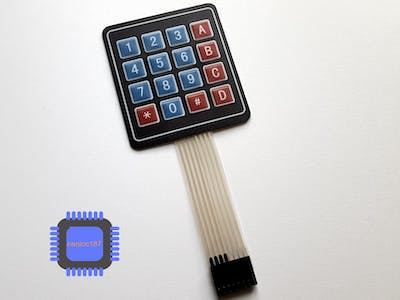 Using a 4x4 keypad