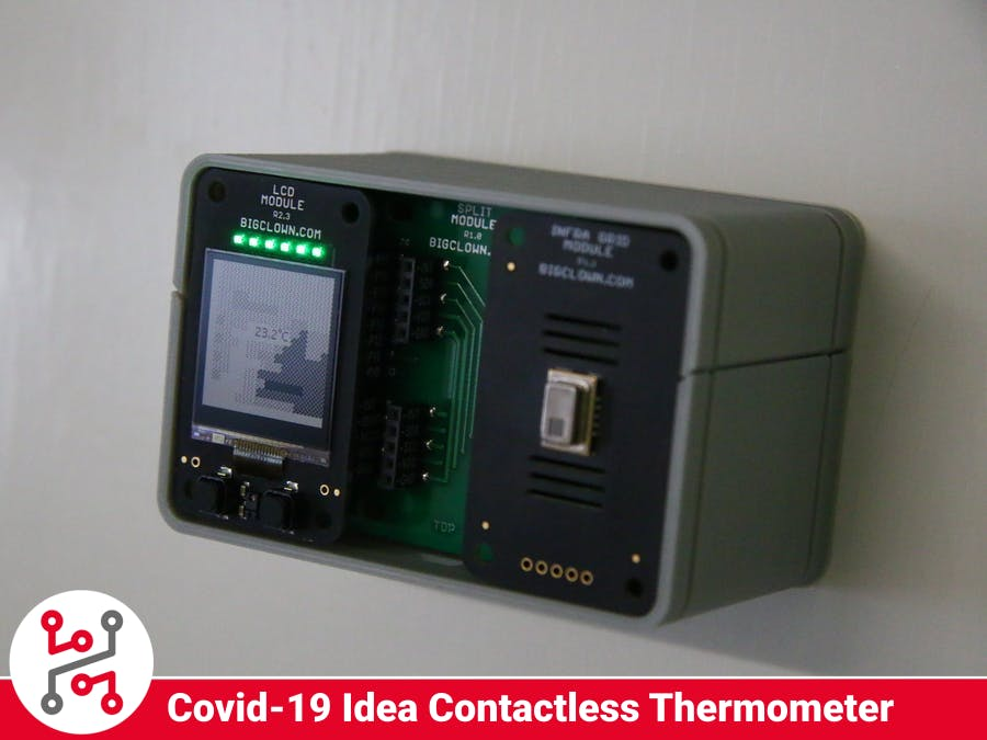 Covid-19 Project Idea: Matrix IR Contactless Thermometer