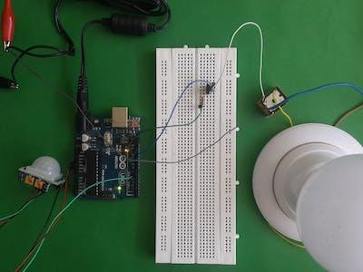 Automate Light with PIR sensor