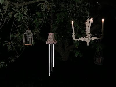 'In the enchanted garden' - Interactive Wind chime sound art
