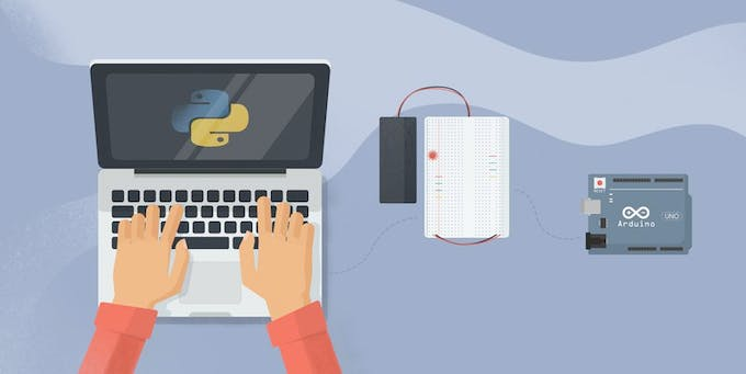 A combination of Python and Arduino can create powerful devices