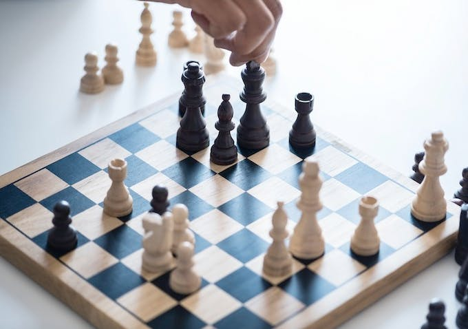 """""""This one game of chess where our king can't fail, and we can't lose."""""""