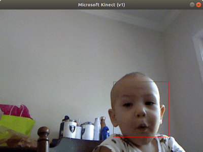 Facial Recognition Using XBox Kinect and OpenCV!