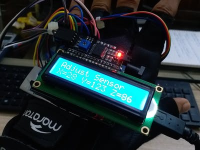 Axis Detector using arduino UNO