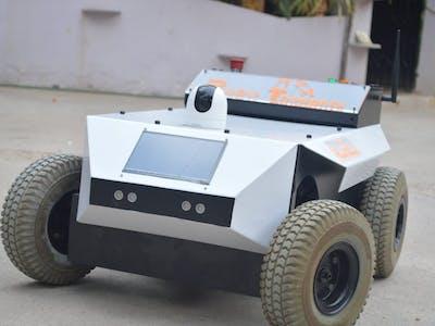 SAINT V1.1 Vigilance Robot