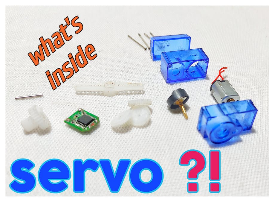 Whats Inside a Servo and How to Use With Arduino Full Tu...