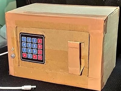 Arduino Digital Locker (Prototype)