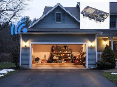 NodeMCU SMART GARAGE