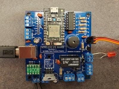 Photon-based Wireless I/O Board