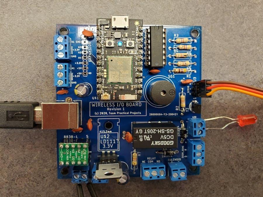 Photon-based Wireless I/O Board