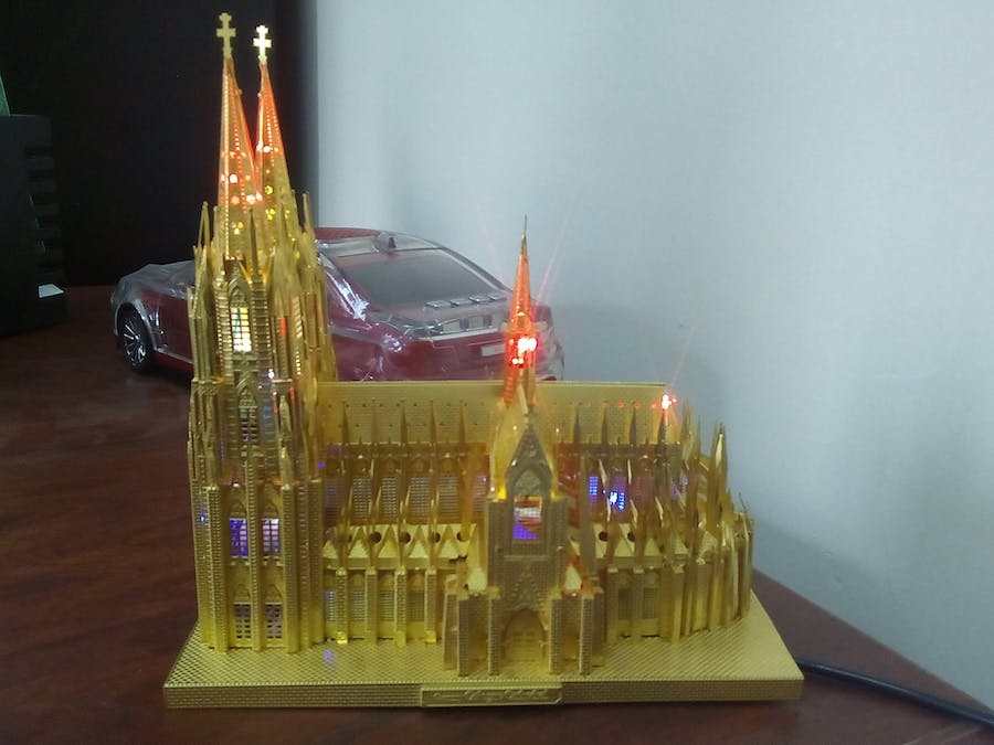 Gothic Cathedral Leds