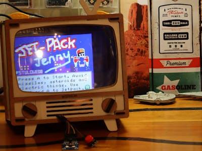Retro TV MakeCode Arcade Machine (Raspberry Pi Zero)