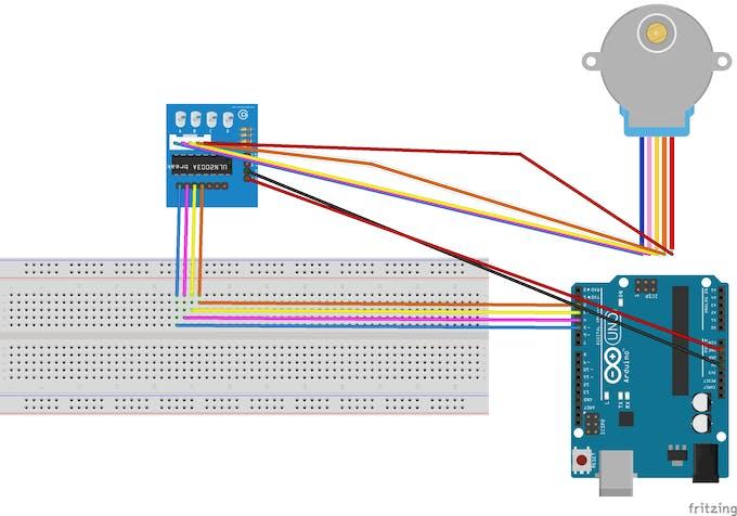 Circuit Diagram for motor