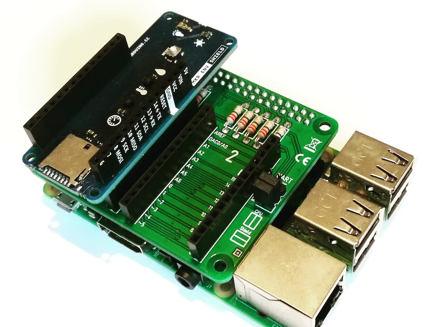 Use the Arduino MKR ENV Shield on a Raspberry Pi