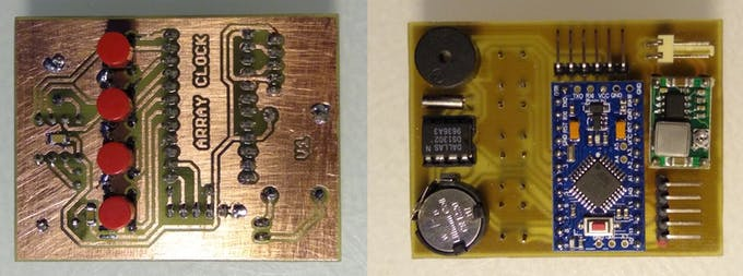 Assembled MPU board