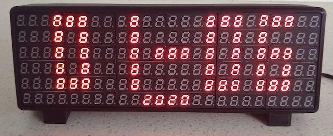 Date screen in DD-MM format