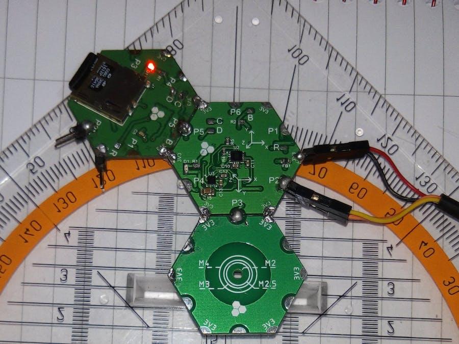 Data Fusion with Hexabitz IMU module (H0BR40)
