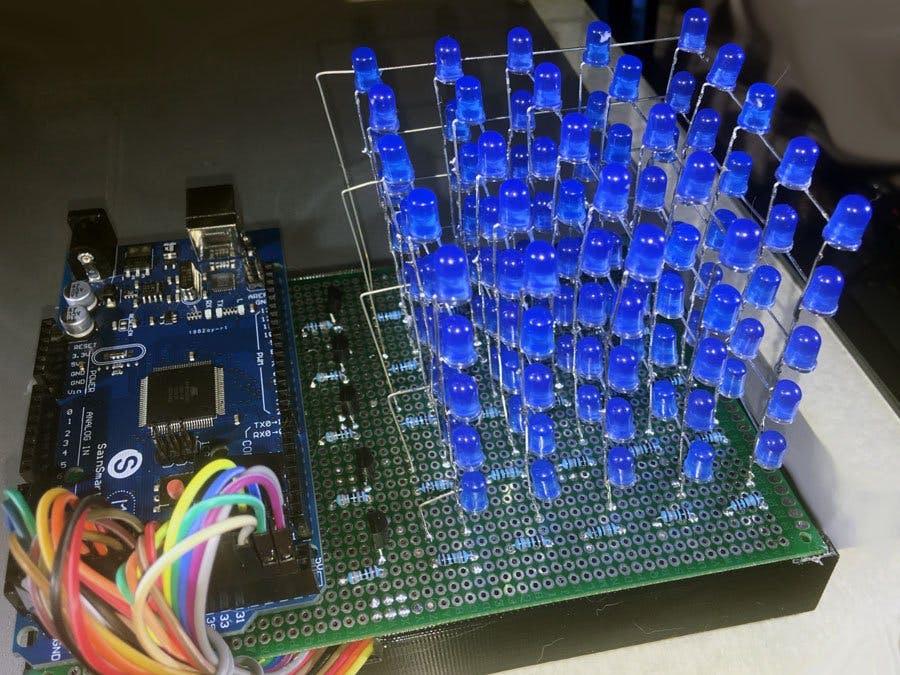 5x5x5 LED Cube
