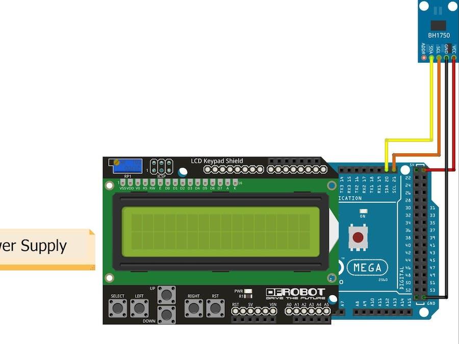 Light meter with Arduino